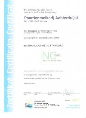 NCS Certificaat
